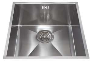 Single Bowl Square Undermount Sink